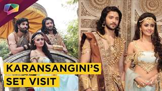 Karansangini's Set Visit & Candid Chat With Actors | Star Plus