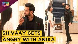 Shivaay's Rude Behaviour Towards Anika | Ishqbaaaz | Star Plus