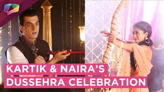 Kartik And Naira Share Some Romantic Moments | Dussehra Special | Yeh Rishta