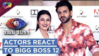 Television Actors React To Bigg Boss 12 | Divyanka, Vivek,& More