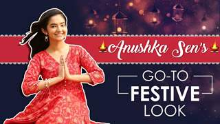 Get Ready With Anushka Sen For This Festive Season | Exclusive
