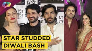 Television Actors Glamorous Diwali Party | India Forums