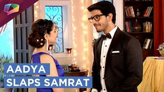 Aadya Gives Samrat A Tight Slap | Internet Wala Love | Colors tv