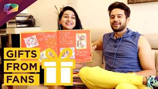 Gaurav Khanna And Akanksha Chamola Receive Gifts From Their Fans | Exclusive
