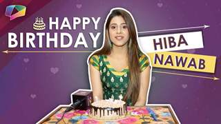 Hiba Nawab Celebrates Her Birthday With India Forums | Exclusive