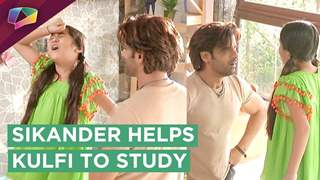 Kulfi To Give Exams | Sikander Helps Her To Study | Major Drama | Kulfi Kumar Bajewala