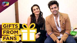 Surbhi Jyoti And Pearl V Puri Receive Gifts From Their Fans | Exclusive | India Forums