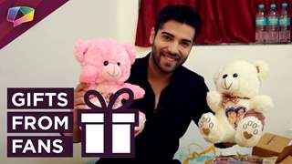 Kinshuk Mahajan Receives Gifts From His Fans | Exclusive
