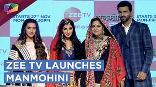 Zee tv Launches Manmohini Starring Rehyna Malhotra | Exclusive Interview
