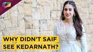 Sara Ali Khan reveals her Mom's reaction