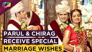 Parul Chauhan & Chirag Thakkar's Interview After Marriage | Receive Wishes From Friends | Exclusive
