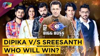Bigg Boss 12 winner is Dipika Kakar and Sreesanth Runner Up - Audience Poll
