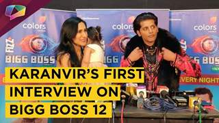 Karanvir Bohra's First Interview After Bigg Boss 12 With Wife Teejay | BB12 Finale