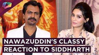 Nawazuddin Gives a CLASSY REPLY to Siddharth ACCUSING him of Hate Speech
