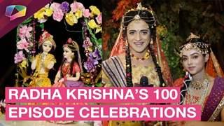 Sumedh Mudgalkar, Mallika Singh & Team Radha Krishna Celebrate On Hitting A Century
