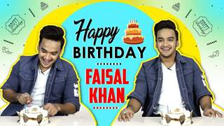 Faisal Khan Celebrates His Birthday With India Forums | Exclusive