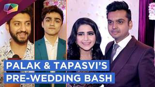 Palak Jain And Tapasvi Mehta's Pre Wedding Star Studded Bash | Kunal Jaisingh, Ronit Roy & More