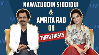 Nawazuddin Siddiqui And Amrita Rao Share About Their Firsts | Exclusive | Thackeray