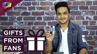 Faisal Khan Unwraps Gifts From His Fans | Exclusive