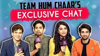 Anshuman Malhotra, Simran Sharma, Tushar Pandey & Prit Kamani Talk About Hum Chaar