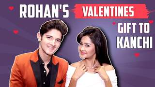 Rohan Mehra Gifts Kanchi Singh Diamonds For Valentines | Exclusive Interview