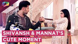 Shivansh And Mannat's Cute Moment | Ishqbaaaz | Star Plus
