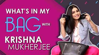 What's In My Bag With Krishna Mukherjee | Bag Secrets Revealed | Exclusive