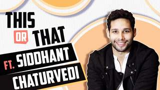 Siddhant Chaturvedi Aka MC Sher Plays This Or That With India Forums | Gully Boy