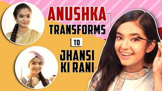 Anushka Sen's Transformation To Jhansi Ki Rani Aka Manikarnika | 3 Looks Decoded | India Forums