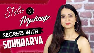 Soundarya Sharma Takes Up The Makeup Rapid Fire | Makeup Secrets Revealed