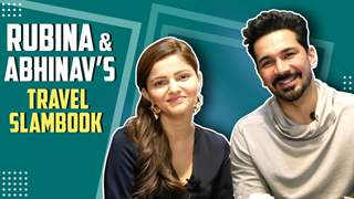 Rubina Dilaik And Abhinav Shukla Fill Their Travel Slambook | India Forums