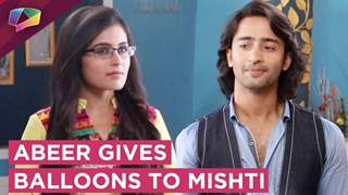 Abeer Goes To Maheshwari House | Gives Balloons To Mishti | Major Twist | YRHPK
