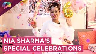 Nia Sharma's Special Celebrations On Completing 8 Years Milestone | Exclusive