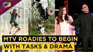 MTV Roadies Kickstarts Tasks | Drama Begins | Gang Leaders Get Caged