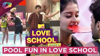 MTV Love School Contestants Have A Fun Pool Task | Love Is In The Air