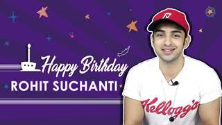 Rohit Suchanti Celebrates His Birthday With India Forums | Exclusive