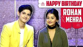 Rohan Mehra Celebrates His Birthday With Kanchi Singh | India Forums