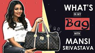 What's In My Bag With Mansi Srivastava | Bag Secrets Revealed | India Forums