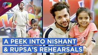 Nishant And Rupsa's Rehearsal Session | Super Dancer 3 | Sony Tv