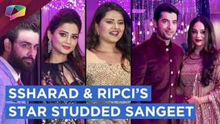 Ssharad Malhotra And Ripci Bhatia Host A Star Studded Cocktail Party & Sangeet