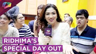 Ridhima Pandit's Special Day Out At The NGO | India Forums