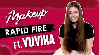 Yuvika Chaudhary Takes Up The Makeup Rapid Fire