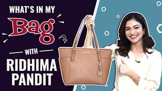 What's In My Bag With Ridhima Pandit | Bag Secrets Revealed