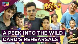 Super Dancer 3 | Peek Into The Wild Card's Rehearsals Session