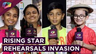 Rising Star Contestants Rehearsal Invaded