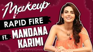 Makeup Rapid Fire Ft. Mandana Karimi