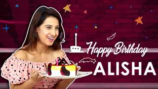 Alisha Panwar Celebrates Her Birthday With India Forums