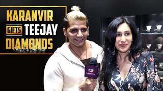 Karanvir Bohra Gifts Wife Teejay Sidhu Diamonds | India Forums