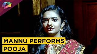 Mannu Performs Pooja For The First Time With In-laws | Jhansi Ki Rani | Colors tv