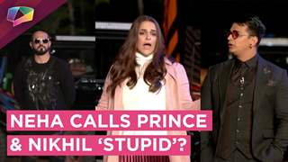 Neha Dhupia Calls Prince Narula And Nikhil 'Stupid' | Anger, Drama & More | MTV Roadies